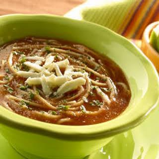 Mexican Sopa De Fideos.