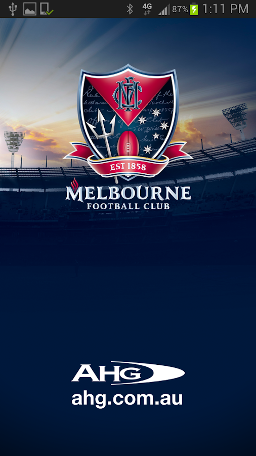 Melbourne Official App - screenshot