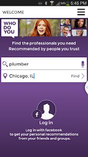 WhoDoYou - Trusted Referrals - screenshot thumbnail