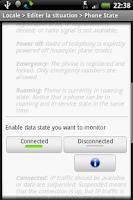 Screenshot of Locale Phone State Plug-in