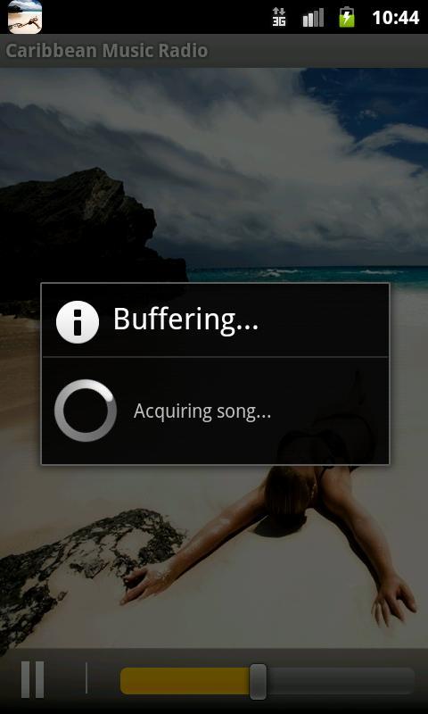 Caribbean Music Radio- screenshot