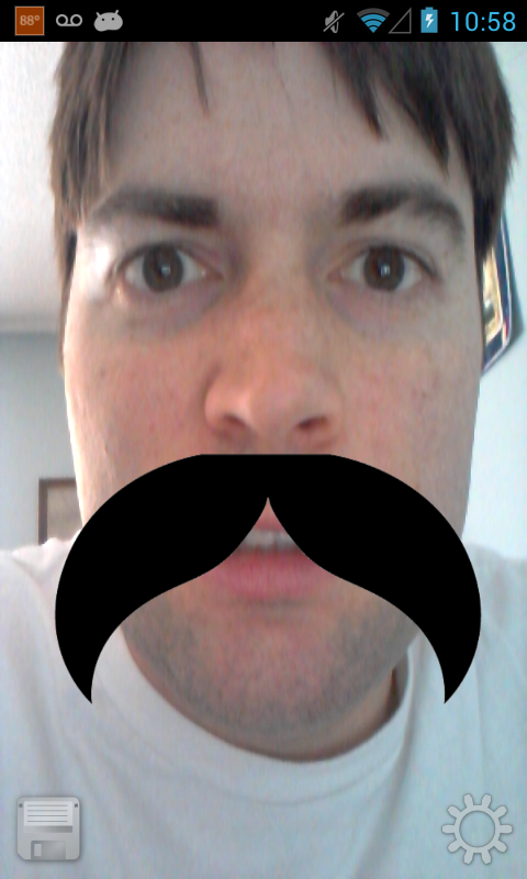 Moustache Me - screenshot