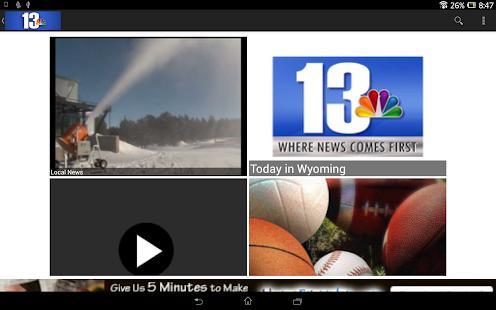 KCWY News - screenshot thumbnail