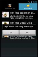Screenshot of mon an - nau an, cách nấu ăn