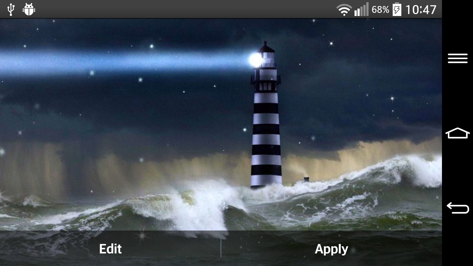storm live wallpaper   android apps on google play