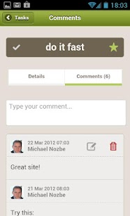 Nozbe - Tasks, Projects & Time - screenshot thumbnail