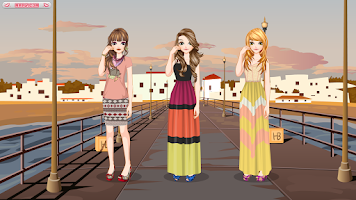 Screenshot of Californian Girls - dress up