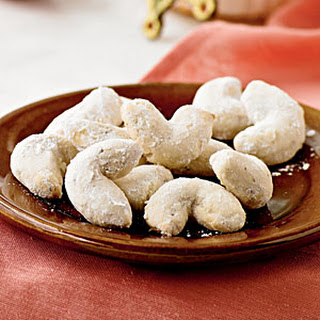 Anise Tea Crescents