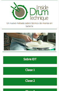 Free Drum Lessons - IDT screenshot 0
