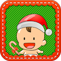 Toddler Christmas Touch Game icon