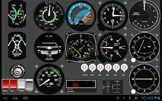 Screenshot of FlightGearMap