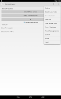 Screenshot of Wazzap Migrator