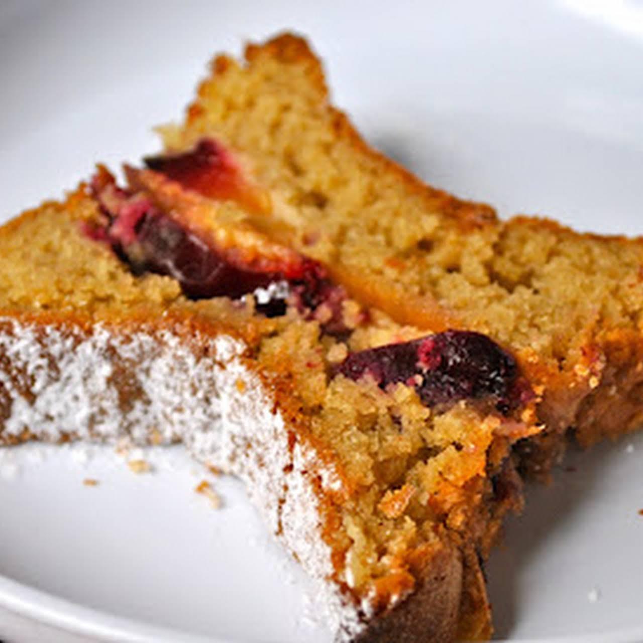 Cherry Sponge Cake With Cinnamon Recipe Yummly