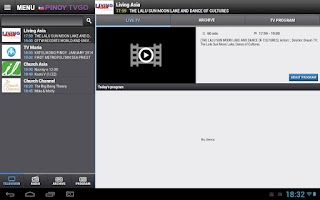 Screenshot of PinoyTvGo
