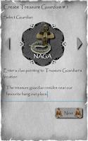 Screenshot of Temple Treasure Hunt Game