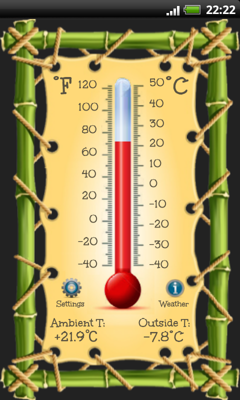Thermometer - screenshot