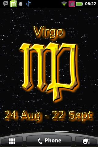 Virgo Zodiac Sign - screenshot