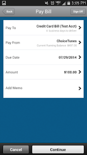 Choice Financial Mobile- screenshot thumbnail