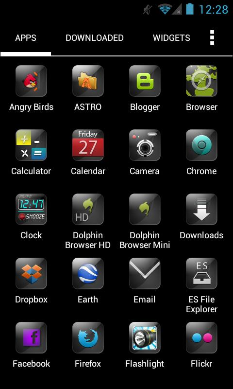 Pure HD Apex Theme - screenshot