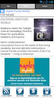 Screenshot of Florida Weekly