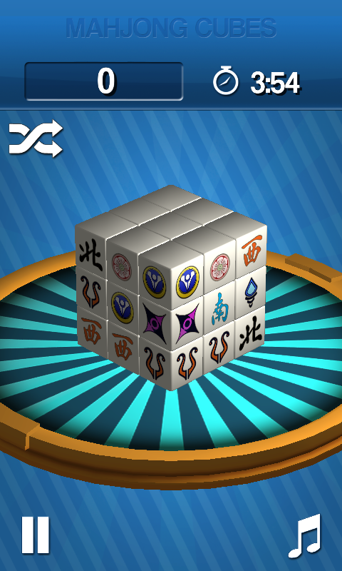 Mahjong Cubes - screenshot