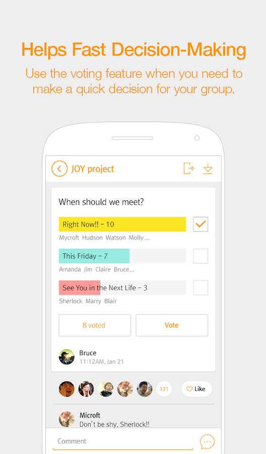 SolGroup - Organize groups - screenshot