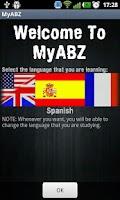 Screenshot of MyABZ