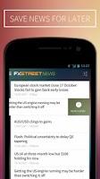 Screenshot of FXStreet Forex News & Calendar