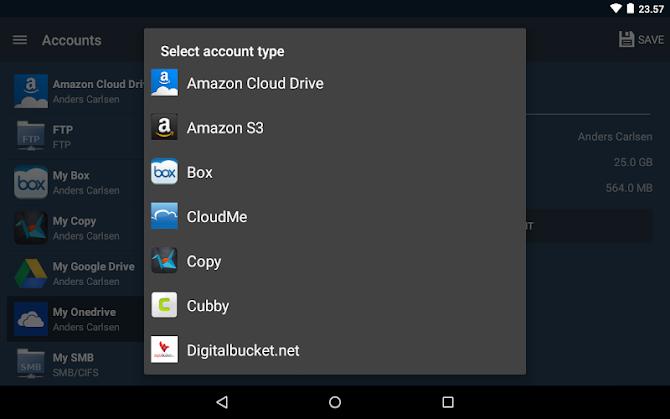 FolderSync Pro Android 19