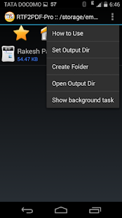 RTF to PDF Converter Pro