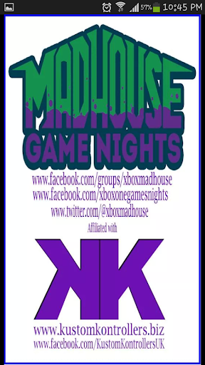 Madhouse Games Nights