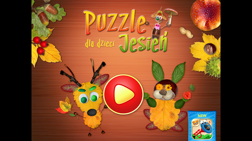 Puzzle dla dzieci - Jesień