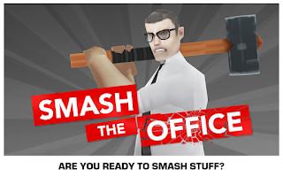 Screenshot of Smash the Office - Stress Fix!