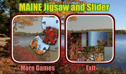 Maine Jigsaw and Slider