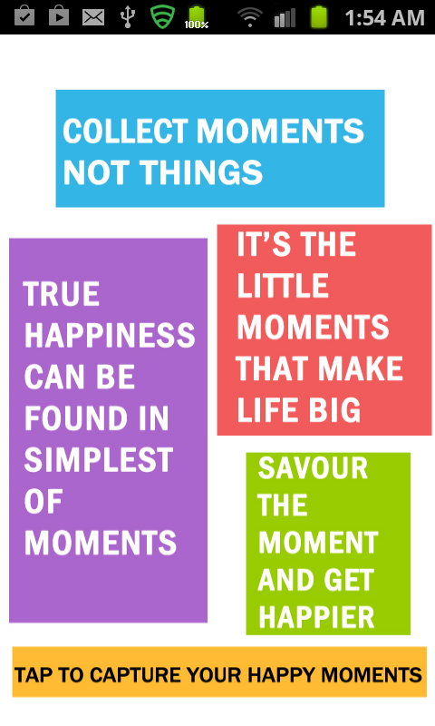 Moments - Making you happier!- screenshot