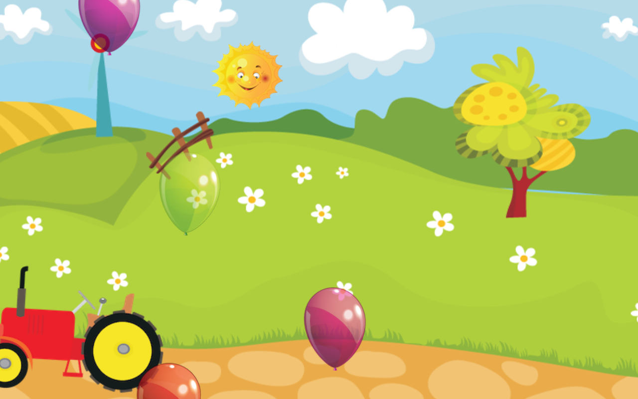 Farm Balloon Pop - screenshot