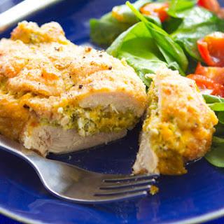 Broccoli & Cheese Stuffed Chicken.
