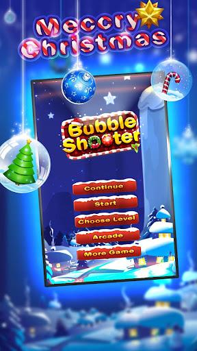 Snowman Shoot Bubble
