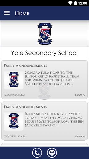 Yale Secondary