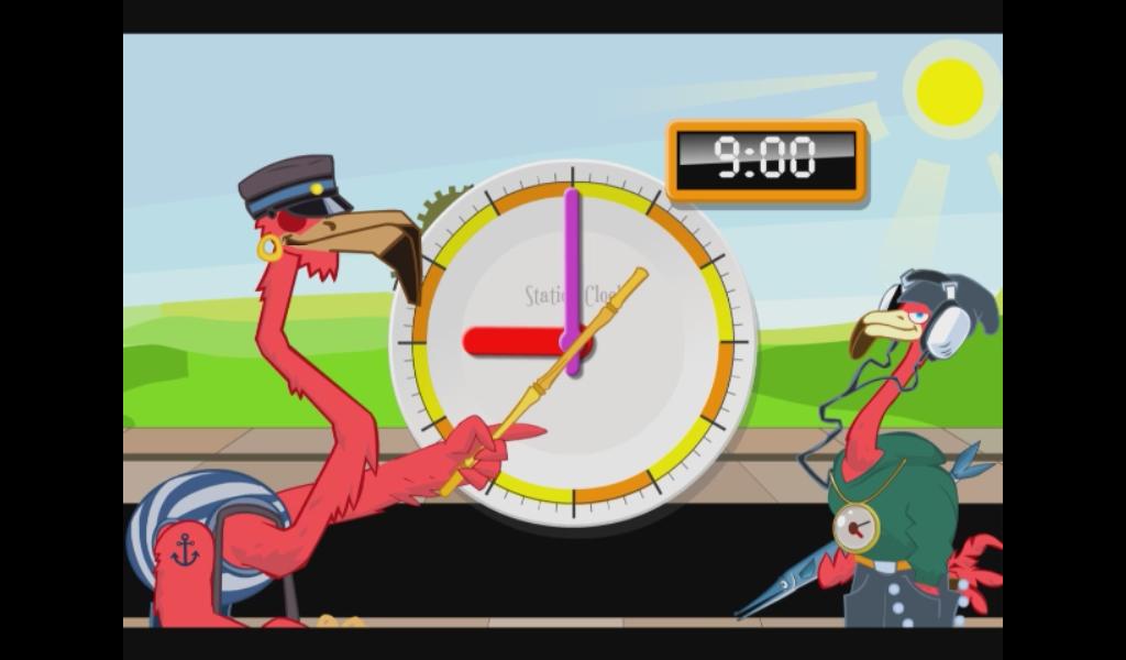 Learn to tell time - Fun Clock - screenshot