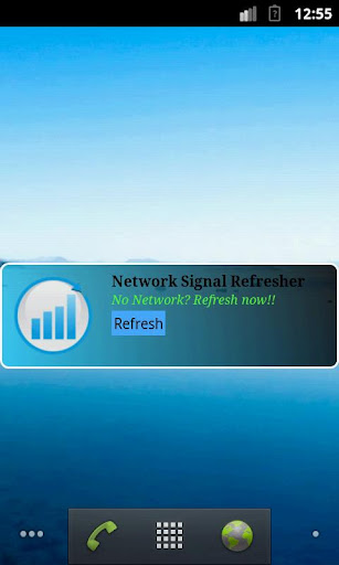 Network Signal Refresher Trial