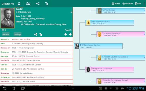 GedStar Pro Genealogy Viewer - screenshot thumbnail