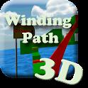 Winding Path 3D icon