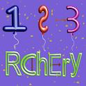Rchery – Number logo
