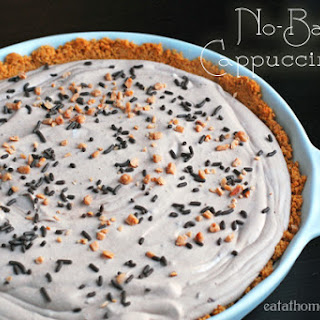 No-Bake Cappuccino Pie