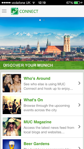 MUC Connect - Your Munich App