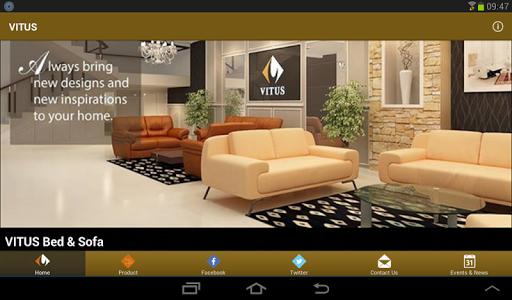 【免費購物App】VITUS Sofa-APP點子