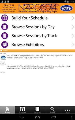 NAPO2014 Conference Expo
