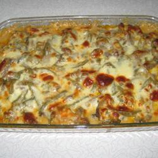 Beer Cheese Philly Steak Casserole.