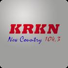 104.3 KRKN FM icon